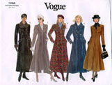 Vogue 1266 Pattern ( Size 6-8-10 )