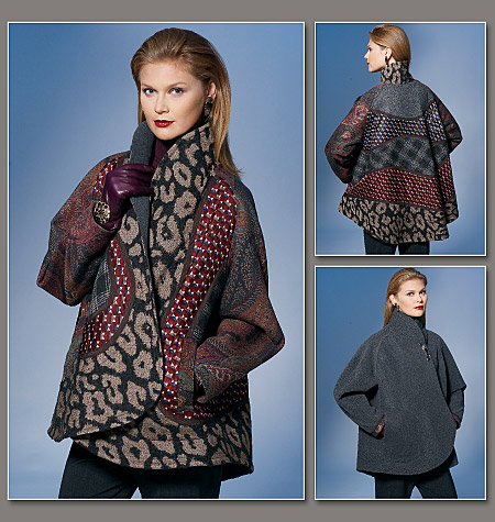 Vogue Patterns Misses Reversible Jacket 1277