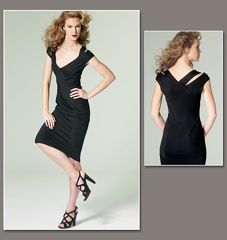 Vogue Patterns Misses Dress-Donna Karan 1280