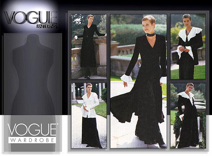 Vogue Patterns Misses' Jacket, Dress, Top & Pants 1290