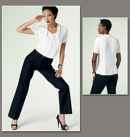 Vogue Patterns Misses Blouse and Pants 1294