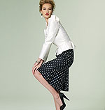 Vogue 1296 Pattern ( Size 8-10-12-14-16 )