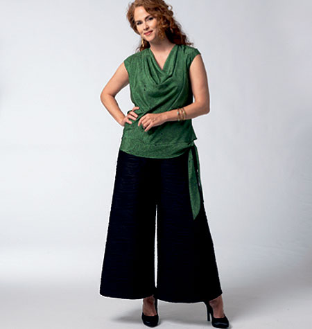Vogue Patterns Misses' Top and Pants 1334