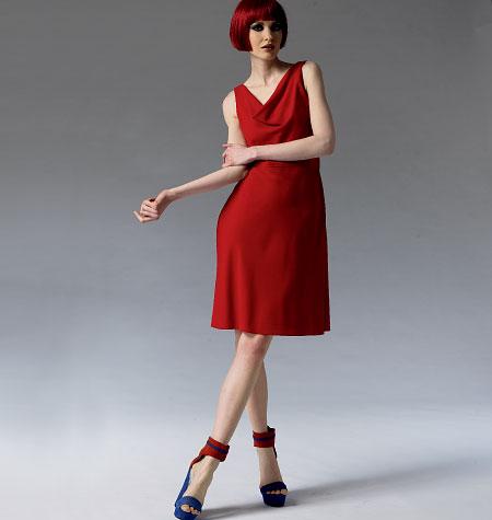 Vogue Patterns Misses Dress 1351