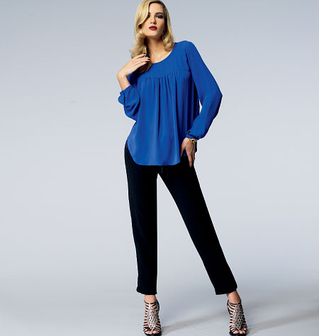 Vogue Patterns Misses' Top and Pants 1367