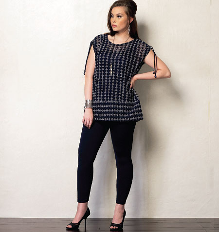 Vogue Patterns Misses' Tunic and Leggings 1376