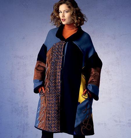 Vogue Patterns Misses' Coat 1377