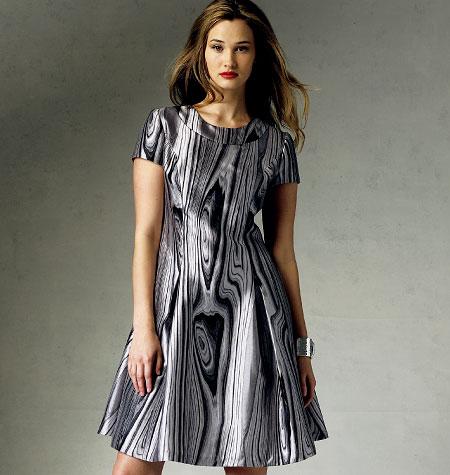 Vogue Patterns Misses'/Misses' Petite Dress 1380