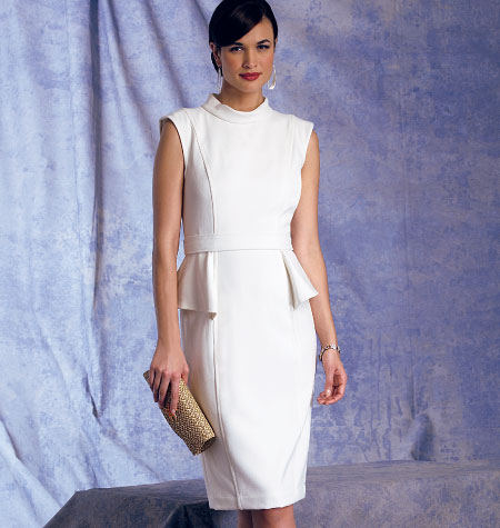 Vogue Patterns Misses' Dress and Belt 1399