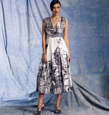 Vogue Patterns Misses' Dress 1402