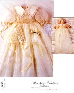 Vogue Patterns Infants' Dress & Bonnet 1755