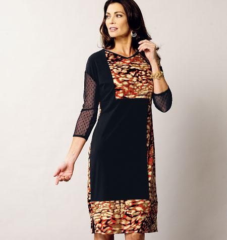 Vogue Patterns Misses Dress 1336