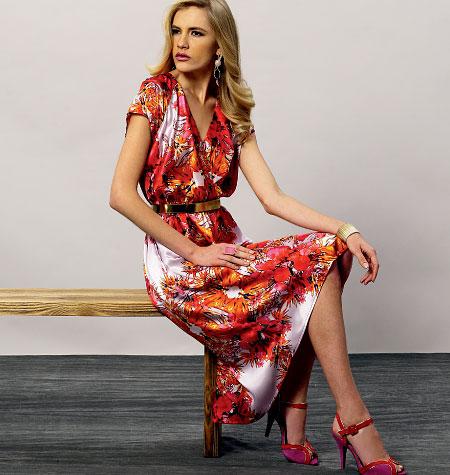 Vogue Patterns Misses Dress 8870