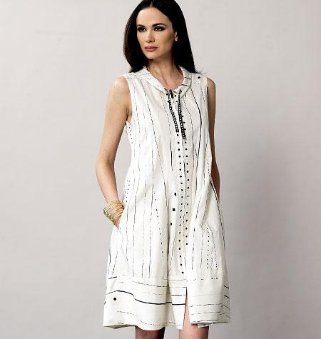 Vogue Patterns Misses Dress 8876