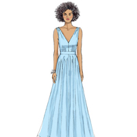 Vogue 9053 Pattern ( Size 6-8-10-12-14 )