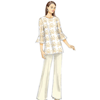 Vogue 9062 Pattern ( Size 14-16-18-20-22 )