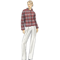 Vogue 9139 Pattern ( Size LRG-XLG-XXL )