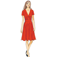 Vogue 9146 Pattern ( Size 6-8-10-12-14 )