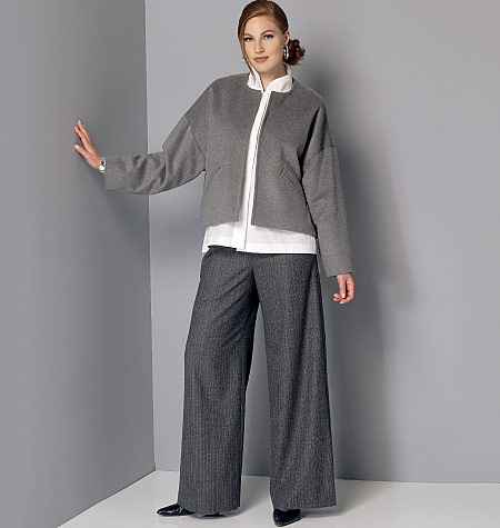 Vogue Patterns 9162 Misses Jacket Shirt And Pants Sewing