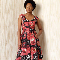 Vogue 1497 Pattern ( Size 6-8-10-12-14 )
