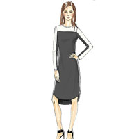 Vogue 9166 Pattern ( Size 14-16-18-20-22 )