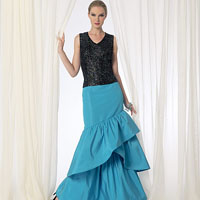 Vogue 9173 Pattern ( Size 6-8-10-12-14 )