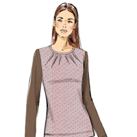 Vogue 9205 Pattern ( Size XSM-SML-MED )