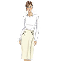 Vogue 9209 Pattern ( Size 14-16-18-20-22 )