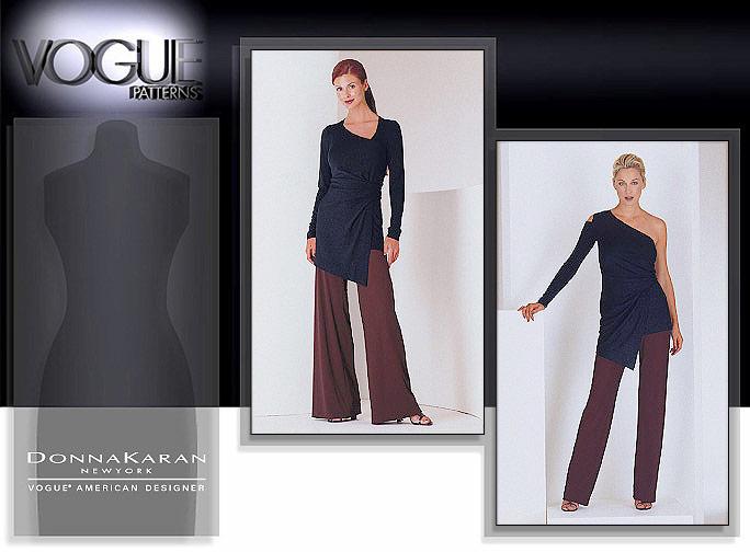 Vogue Patterns Misses' Top & Pants 2064