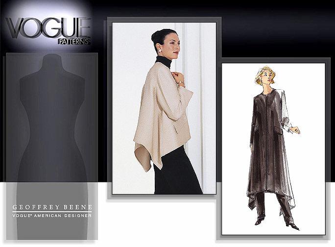 Vogue Patterns Geoffrey Beene 2232
