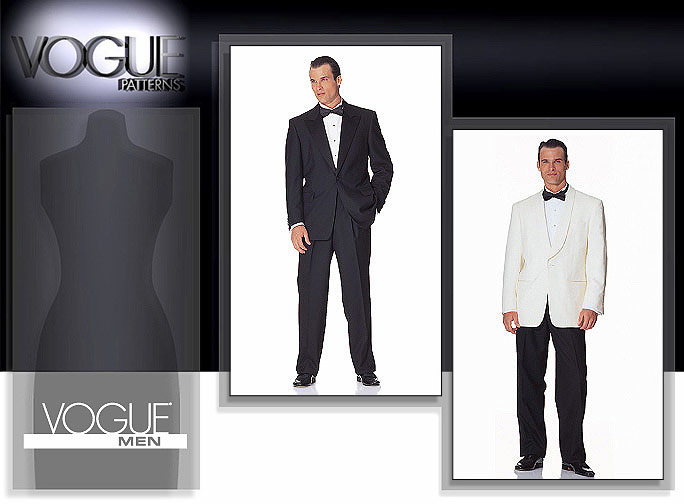 Vogue Patterns Men's Jacket & Pants 2383
