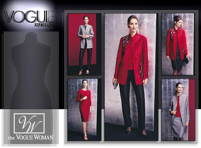 Vogue Patterns MISSES'/MISSES' PETITE JACKET, TOP, DRESS, SKIRT AND PANTS 2771