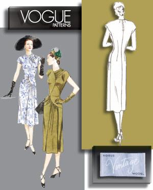 Vogue Patterns MISSES' DRESS 2787