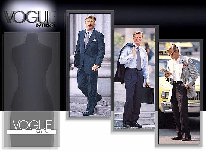 Vogue Patterns Men's Jacket & Pants 2836
