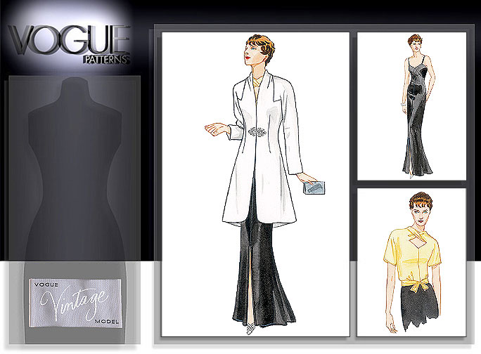 Vogue Patterns MISSES' JACKET, BLOUSE AND DRESS 2859