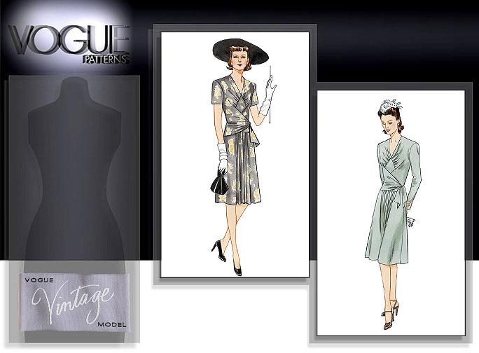 Vogue Patterns MISSES' DRESS 2876