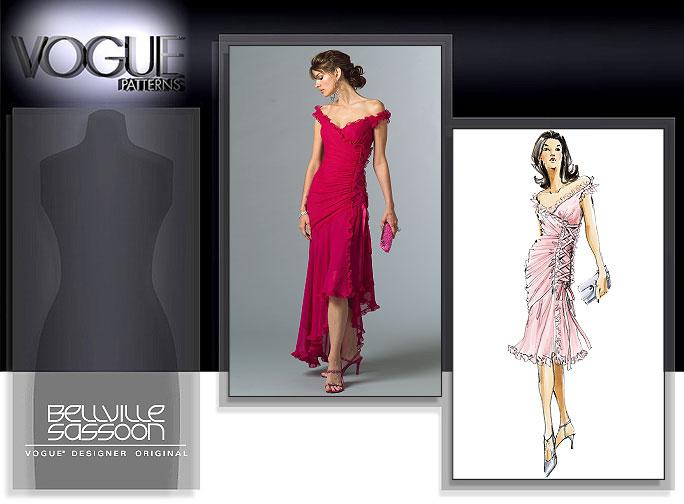 Vogue Patterns MISSES' DRESS 2880