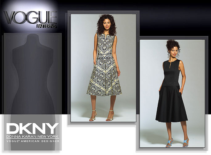 Vogue Patterns MISSES'/MISSES' PETITE DRESS 2900