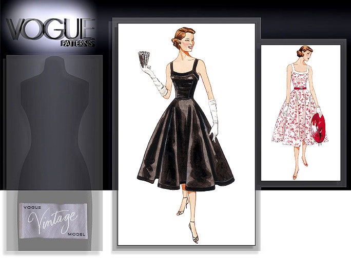 Vogue Patterns MISSES'/MISSES' PETITE DRESS 2902