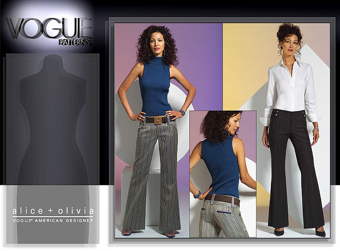 Vogue Patterns MISSES'/MISSES' PETITE PANTS 2907