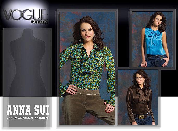 Vogue Patterns MISSES' BLOUSE 2912