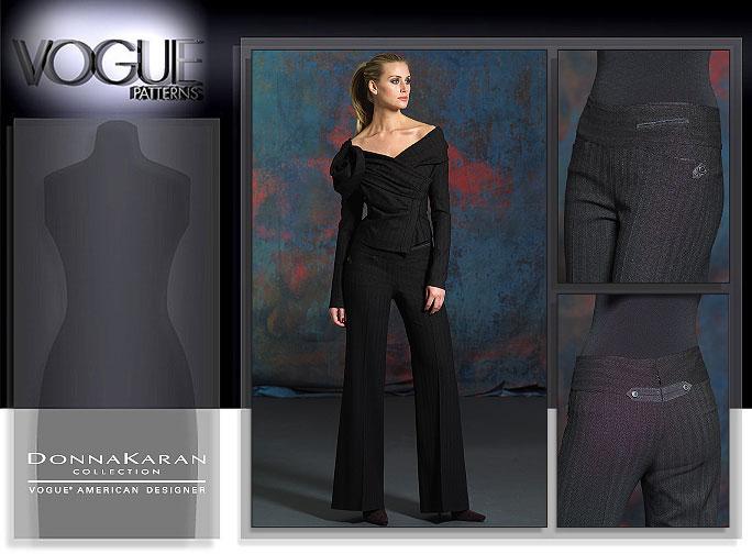 Vogue Patterns MISSES' JACKET AND PANTS 2920
