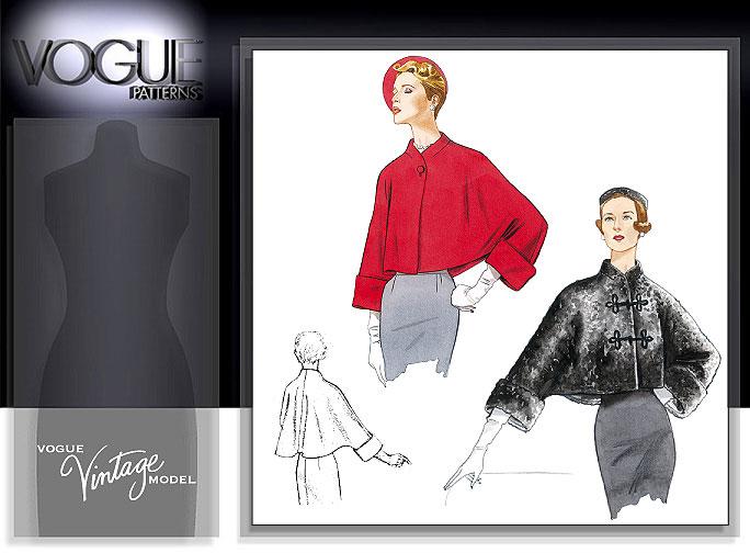 Vogue Patterns MISSES' JACKET 2934