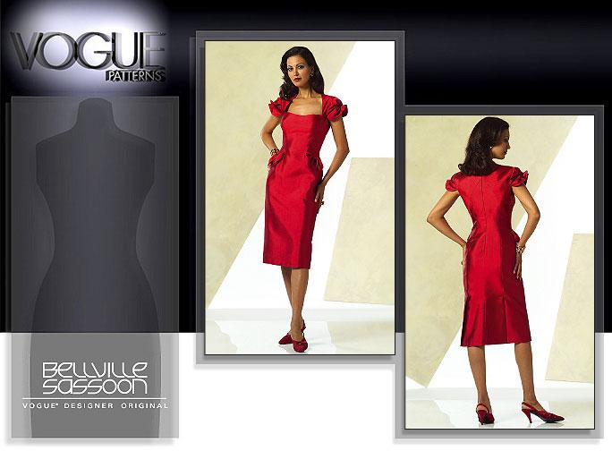 Vogue Patterns MISSES' DRESS 2943