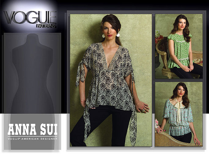Vogue Patterns MISSES' BLOUSE 2947