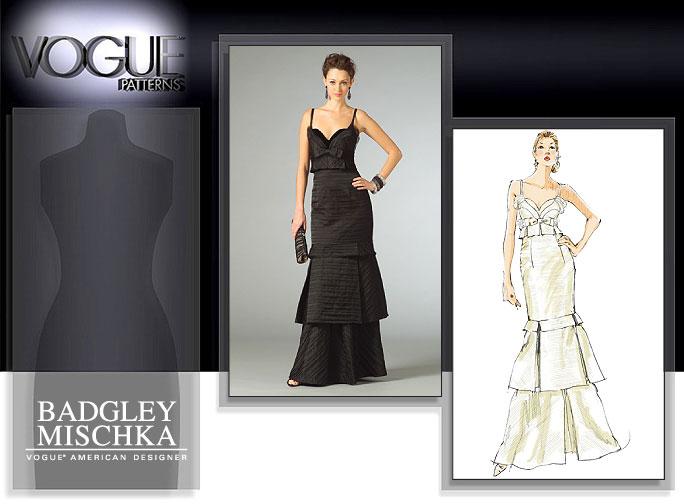 Vogue Patterns MISSES' DRESS 2963