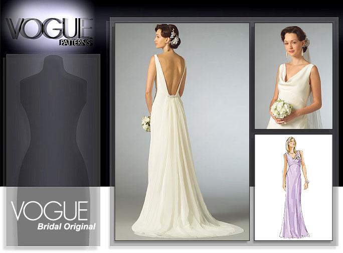 Vogue Patterns MISSES' DRESS 2965