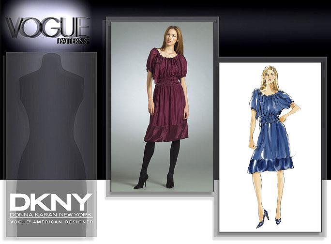 Vogue Patterns MISSES' DRESS AND SLIP 2978