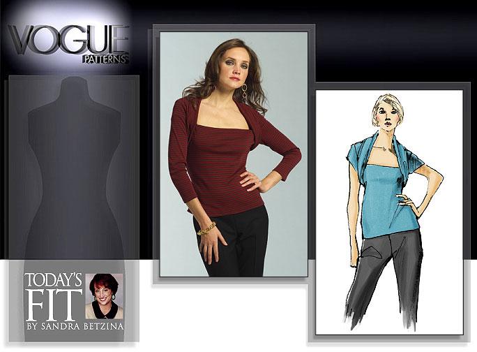 Vogue Patterns MISSES' TOP 2980