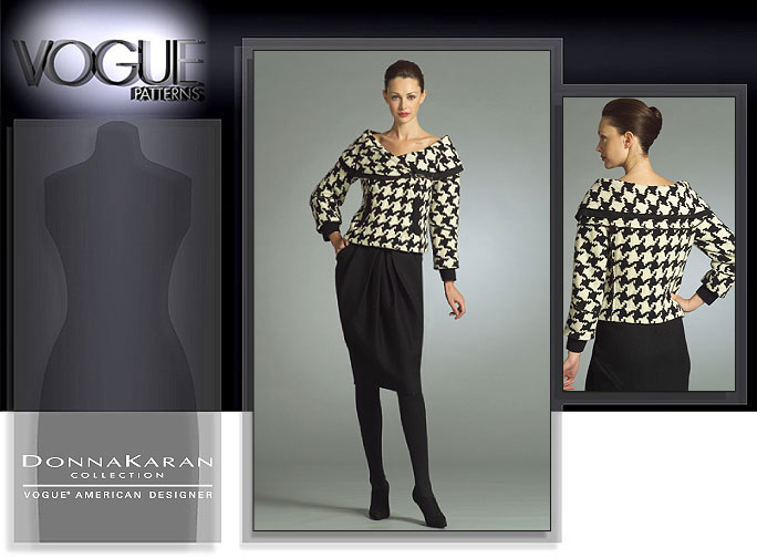 Vogue Patterns MISSES' JACKET AND SKIRT 2983